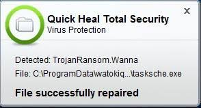 virus warning