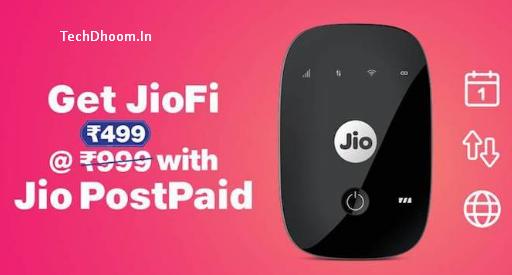 jiofi offer 499