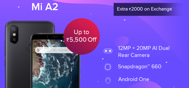 mi a2 mobile phone price