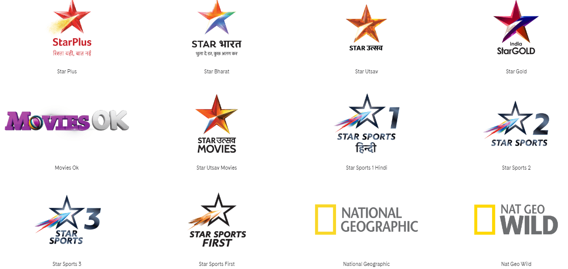star india tv channels price updated
