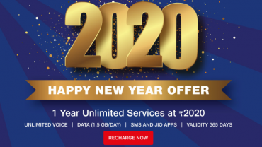 jio new year 2020 offer