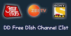 dd free dish channels