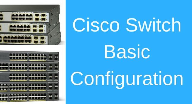cisco switch basic configurations