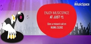 imusic space airtel offer