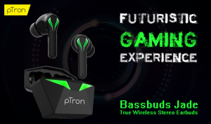 pTron Bassbuds Jade Gaming True Wireless Headphone